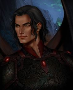 I painted this illustration alongside Rhys illustration i posted few days ago, (i painted Az too… which i will post later) for Cassian from a court of thorns and roses series by hope you guys will like it xoxo A Court Of Wings And Ruin, A Court Of Mist And Fury, Book Characters, Fantasy Characters, Character Inspiration, Character Art, Feyre And Rhysand, Sara J Maas, Sarah J Maas Books