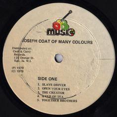 Dennis Brown - Joseph's Coat Of Many Colours (Label)