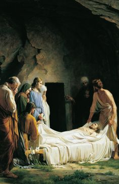 """Carl Bloch, """"Burial of Jesus"""" Amazing in large, face to painting format. Their eyes are brimming with tears."""