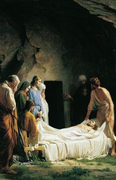 Carl Heinrich Bloch, Burial Of Jesus