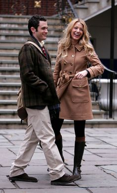 Pin for Later: 64 Times Blake Lively Gave Us Major Outfit Envy on Gossip Girl Festive For Fall