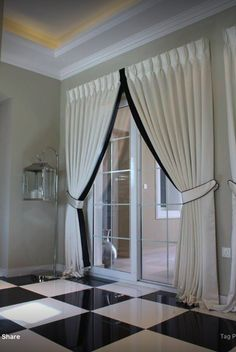 Curtains with Trim