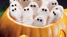 With only three ingredients, these cookies are so easy you'll want to make a whole ghostly gob of them!