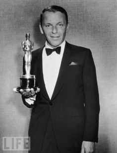 """Frank Sinatra, 1953 Best Supporting Actor for """"From Here to Eternity"""""""