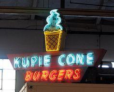 Kupie Cone sign | Flickr - Photo Sharing!