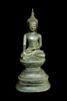 17-18th century COUNTRY OF ORIGIN: Shan, Burma CONSTRUCTION: Bronze