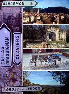 Bargemon Claviers Callas Gorges du Verdon #dracenie #var #provence