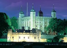 The Tower of London. Prison and execution site of so many influential people in history.