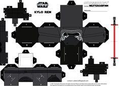 Cubeecraft Star Wars: The Force Awakens - Kylo Ren by WesterosiiFinn.deviantart.com on @DeviantArt