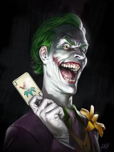 The Joker by Ian Macdonald * Joker Comic, Joker Pics, Batman Comic Art, Joker Art, Comic Book Villains, Comic Books Art, Joker Wallpapers, Animes Wallpapers, Personnage Dc Comics