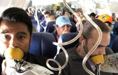 On Southwest 1380 Confusion and Distraction as Oxygen Masks Dropped