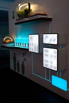 Fresh Connect, accesorios diversos conectados a un sistema de refrigeración central