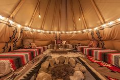 Glamping in California Teepee