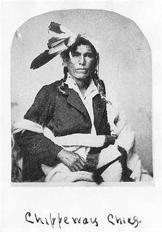 Ojibwa man – 1870