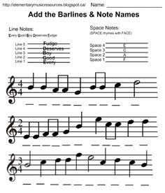 Daily Edit: Add Barlines & Note Names