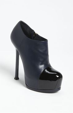 Love these booties! On my list :) Yves Saint Laurent 'Tribtoo' Platform Bootie available at #Nordstrom