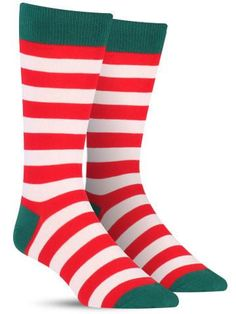 Holiday Stripe Socks | Mens