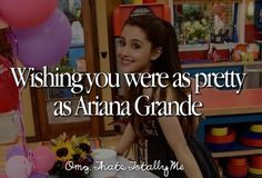 OMG That's Totally Me Ariana Grande is my role model Ariana Grande Quotes, Ariana Grande Facts, She Is Gorgeous, The Most Beautiful Girl, Bae, I Love To Run, Justgirlythings, Totally Me, I Am A Queen