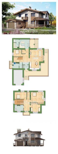 Ev villa projesi 220-001-R | House Expert