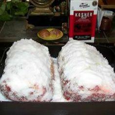 In een zoutkorst gegaarde runderriblap uit de oven @ allrecipes.nl