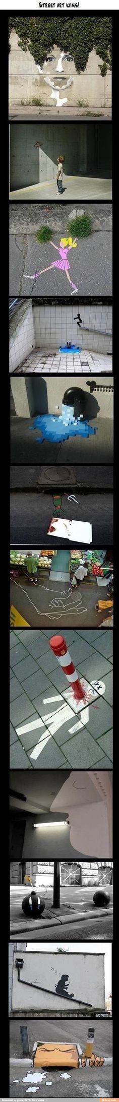 Street art wins