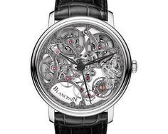 Blancpain skeleton villeret Masters of Skeleton Tourbillon watches Men's Watches, Dream Watches, Fine Watches, Sport Watches, Cool Watches, Patek Philippe, Tag Heuer, Devon, Rolex