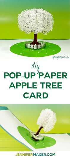 DIY Pop-Up Apple Tre
