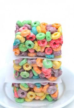 Fruit Loop Cripsy Bars