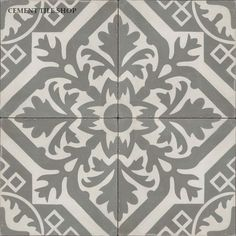 Cement Tile Shop - Encaustic Cement Tile | Newcastle Antique