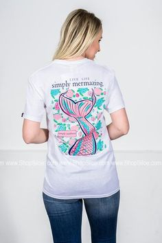 Simply Mermazing | White | Simply Southern