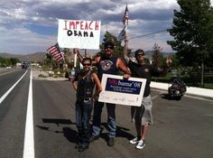 "Carson City, Nevada | The New Fad Taking The Country By Storm: ""Overpasses For Obama's Impeachment"""