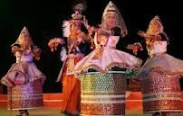 Ras Lila- the epitome of the Manipuri classical dance and is interwoven through the eternal love story of Krishna, Radha and the Gopikas. It is usually performed throughout the night in an enclosure in front of a temple.