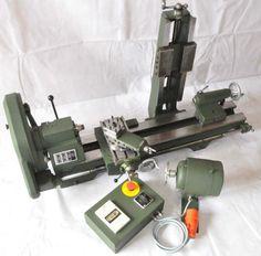 Emco Maximat Standard / Drehmaschine / Fräs-, Schleif-, Bohr-, Schlitzanbaugerät | eBay