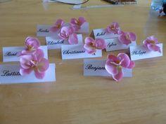 porte nom orchidée fiancailles