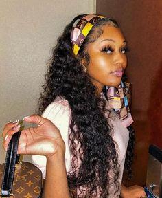 Baddie Hairstyles, Black Girls Hairstyles, Weave Hairstyles, Hairstyles For School, Baby Girl Hairstyles, Formal Hairstyles, Cute Hairstyles, Wedding Hairstyles, Curly Hair Styles