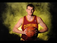 Tyler Zeller of the Cleveland Cavaliers poses for a portrait during the 2012 NBA rookie photo shoot at the MSG Training Facility in Tarrytown, New York.