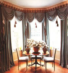 classic curtains on Pinterest | Window Treatments, Valance ...