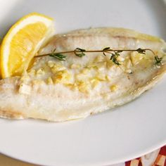 Oven Poached Flounder with Garlic and Olive Oil ¦ Sarah's Cucina Bella