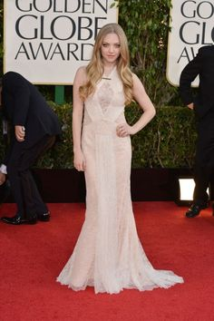 Snaps From The 2013 Golden Globe Awards - Amanda Seyfried / Photo by George Pimentel