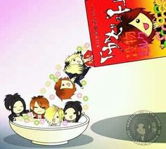 THIS IS SO CUTE! CHIBI RUKI CEREAL! LOL! LOVE IT! >ω< ♡