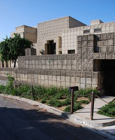 Ennis-Brown House. Frank Lloyd Wright Textile Block Period. 1924. Los Angeles, California