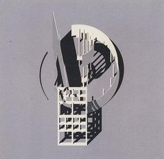 Isozaki, Arata  - Reduction Series 9 Town Hall, GA Gallery Japan, 1983