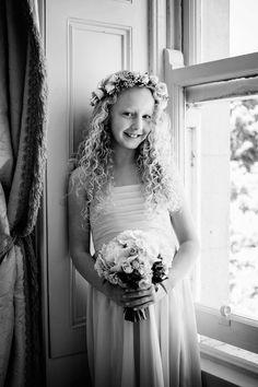 Flower Girl at Tankardstown House wedding.