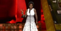 Via @NPR: Viola Davis Becomes First Black Woman To Win Emmy For Best Actress In A Drama http://n.pr/1ir1NLL