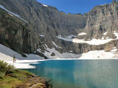 Glacier National Park, Iceberg Lake Trail.  If you go there, you must do this!