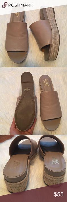 Franco Sarto Women's L-Nola Espadrille Wedge Sandal, Sand-$101.45   Franco  Sarto   Pinterest   Franco sarto, Espadrilles and Wedge sandals