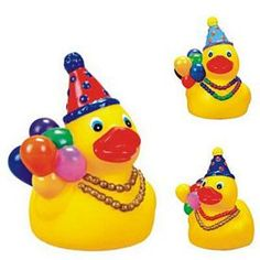 Rubber Here For The Party Duck