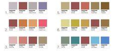 pantone marsala combinación de colores
