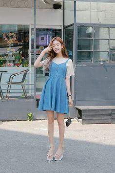 Re Basic Blouse   Korean Fashion