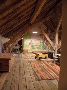Clémence et Clément - Portfolio - La salle de jeux chb enfants dernier etage…